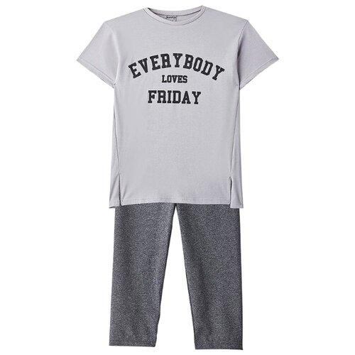 Купить Комплект одежды Elaria размер 134, серый, Комплекты и форма