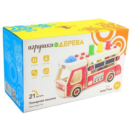 Винтовой конструктор Мир деревянных игрушек Д033 Машина бизиборд мир деревянных игрушек