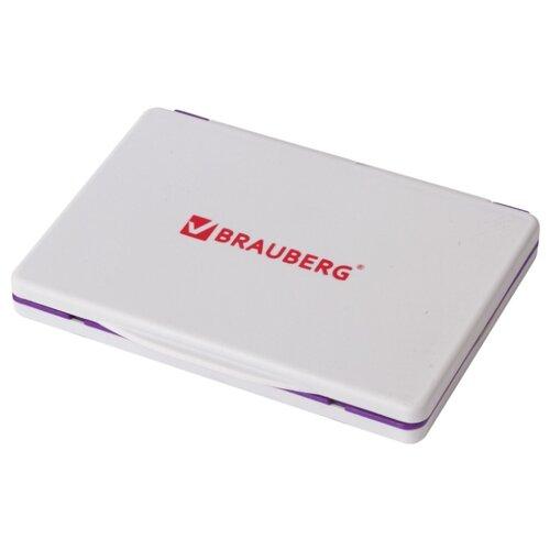 Фото - Штемпельная подушка BRAUBERG 236868 прямоугольная фиолетовая areaware подушка