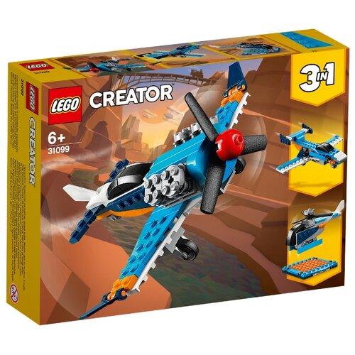Конструктор LEGO Creator 31099 Винтовой самолёт конструктор creator lego lego mp002xb0085u