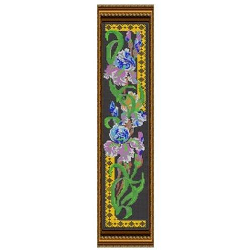 Светлица Набор для вышивания бисером Ирисы 60,1 см х 10,4 см, бисер Чехия (012П)