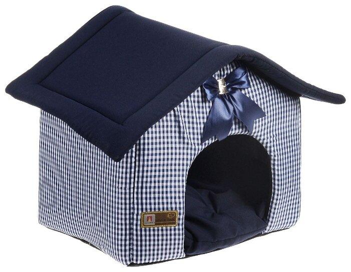 Домик для собак и кошек Зоогурман Ампир 45х40х45 см