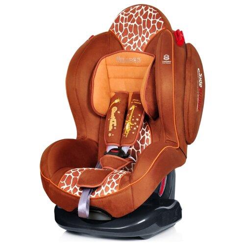 Купить Автокресло группа 1/2 (9-25 кг) Welldon Smart Sport, Giraffe Talk, Автокресла