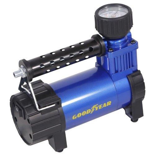 Автомобильный компрессор GOODYEAR GY-35L case черный/синий