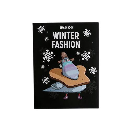 Купить Смэшбук ArtFox Winter fashion А5, 80 листов (5138966), Блокноты
