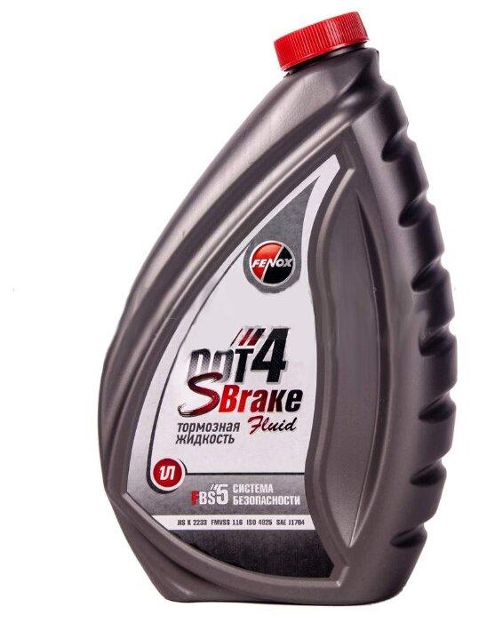 Тормозная жидкость Fenox Sbrake DOT 4 SBF4010 1 л