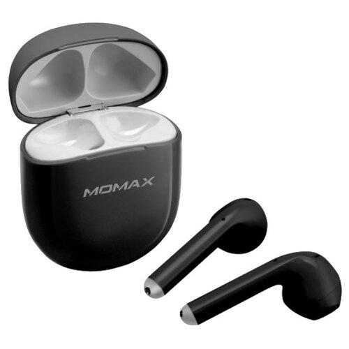 Беспроводные наушники MOMAX Pills Lite black аккумулятор momax ipower air белый коробка