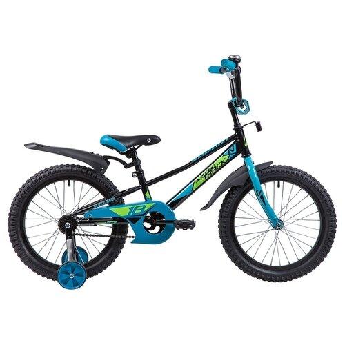 Детский велосипед Novatrack Valiant 18 (2019) черный (требует финальной сборки)