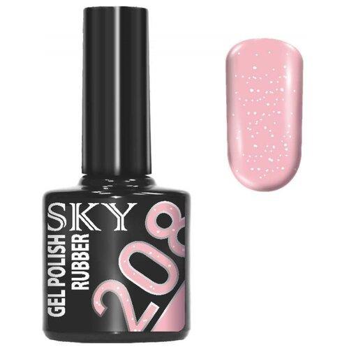 Купить Гель-лак для ногтей SKY Gel Polish Rubber, 10 мл, 208