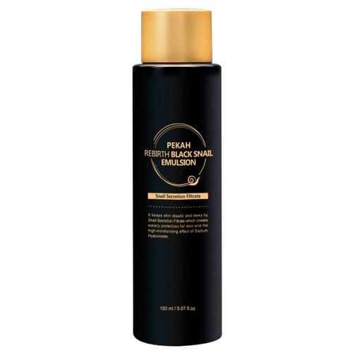 Купить Pekah Rebirth Black Snail Emulsion Эмульсия для лица с муцином черной улитки, 150 мл
