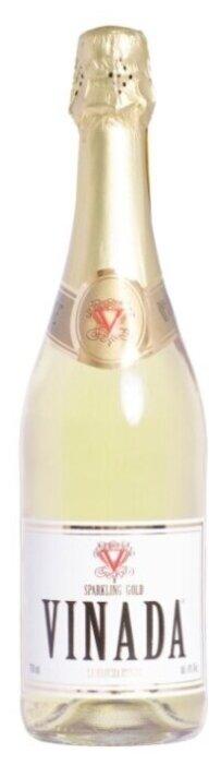 Игристое вино безалкогольное белое VINADA Sparkling Gold 0.75 л