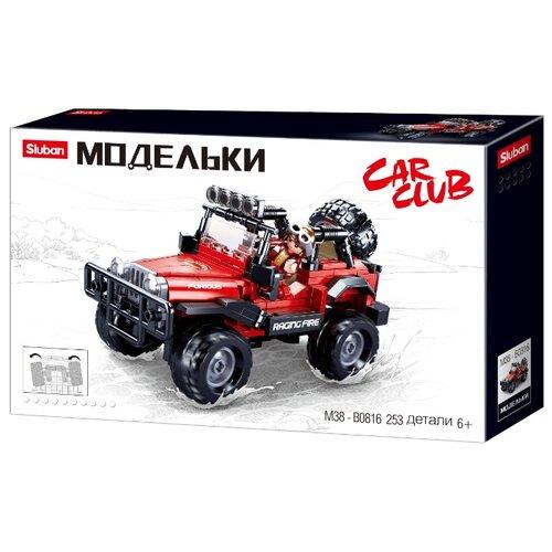 Купить Конструктор SLUBAN Модельки M38-B0816 Внедорожник, Конструкторы