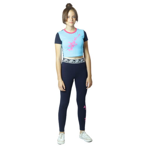Купить Спортивный костюм Nota Bene размер 158, черный/голубой, Спортивные костюмы
