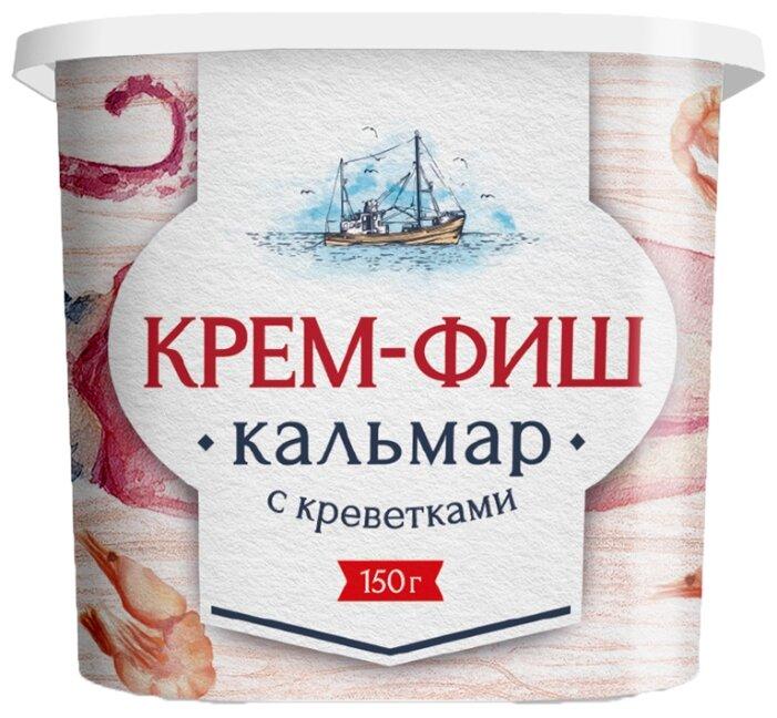 Европром Крем-Фиш кальмар с креветками