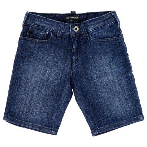 Бермуды EMPORIO ARMANI размер 128, синий рубашка emporio armani размер 128 синий