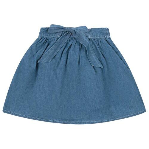 Купить Юбка Leader Kids Amy/S размер 98, синий, Юбки