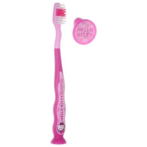 Купить Зубная щетка Dr. Fresh Hello Kitty НК-3 2-6 лет, розовый, Гигиена полости рта
