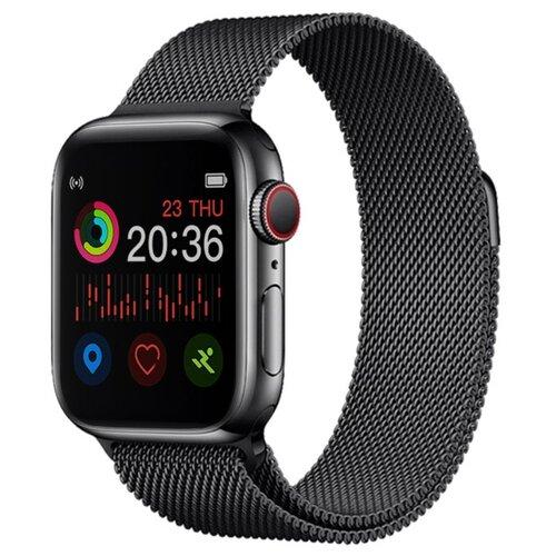 Умные часы BandRate Smart SHX66WB, черный