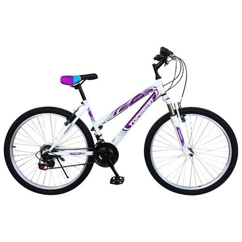Фото - Горный (MTB) велосипед Top Gear Style 26 (ВН26433) белый/сиреневый 16 (требует финальной сборки) горный mtb велосипед merida matts 7 20 2020 glossy purple lilac s требует финальной сборки