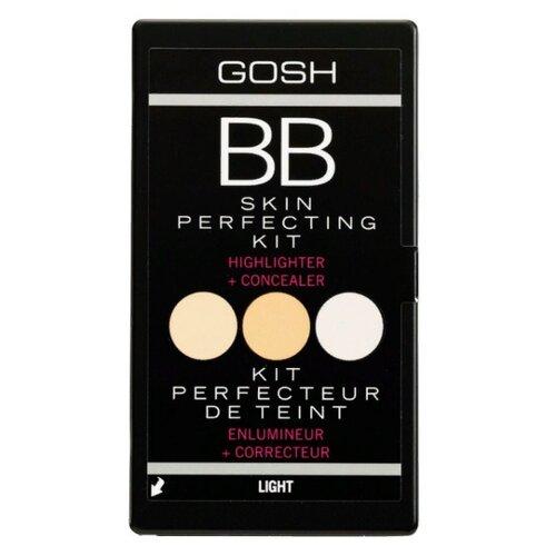 цена на GOSH Палетка для моделирования лица BB-Skin Perfecting Kit, оттенок light