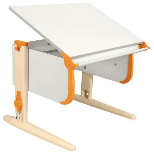 Купить Стол ДЭМИ СУТ-24 75x55 см белый/оранжевый/бежевый, Парты и столы