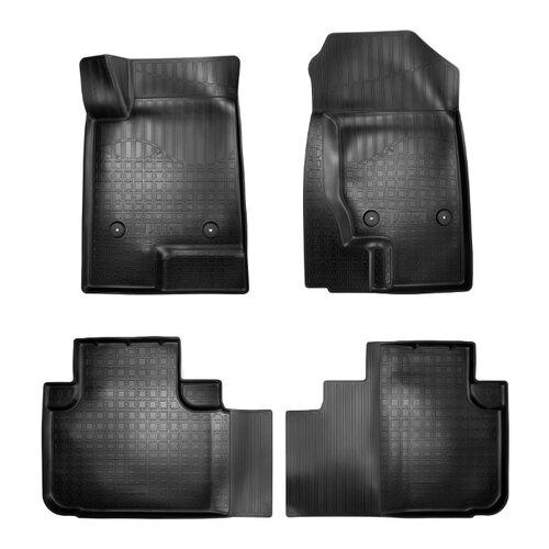 Комплект ковриков NorPlast NPA10-C28-320 Haval F7 4 шт. черный