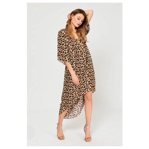Пляжная туника Laete размер S(44) леопард туника пляжная relax mode