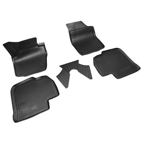 Комплект ковриков NorPlast NPA11-C81-651 5 шт. черный