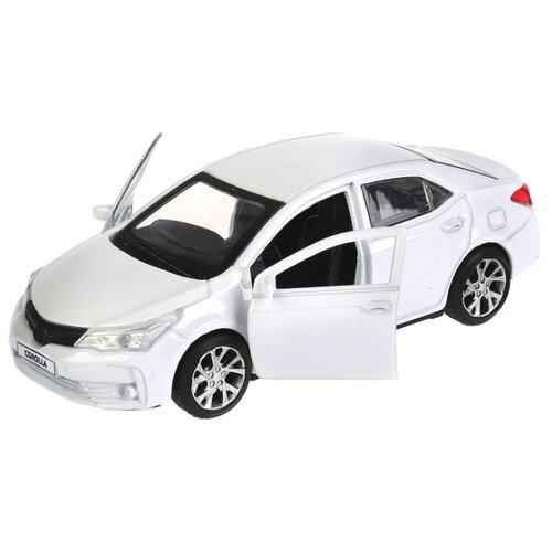 Купить Легковой автомобиль ТЕХНОПАРК Toyota Corolla 12 см белый, Машинки и техника