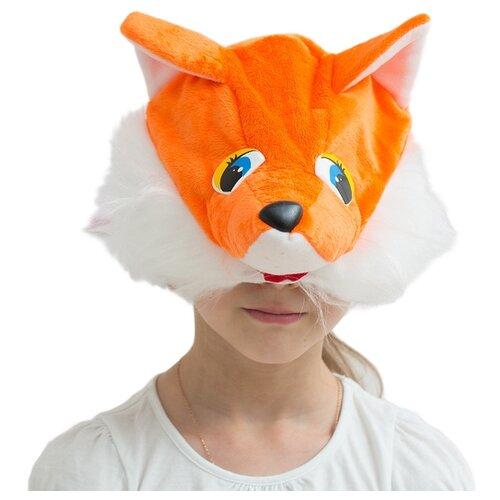 Маска Бока Лисичка шапка, белый/оранжевый шапка маска лисичка page 8