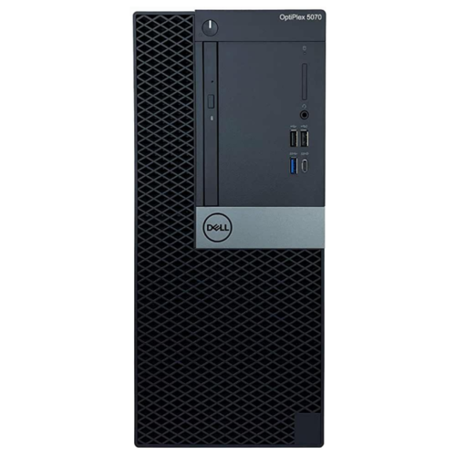 цена на Настольный компьютер DELL OptiPlex 5070 MT (5070-4784) Mini-Tower/Intel Core i7-9700/8 ГБ/256 ГБ SSD/Intel UHD Graphics 630/Windows 10 Pro черный
