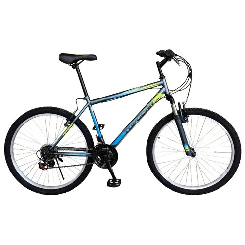 цена на Горный (MTB) велосипед Top Gear Forester 26 (ВН26432) серый/голубой 18 (требует финальной сборки)