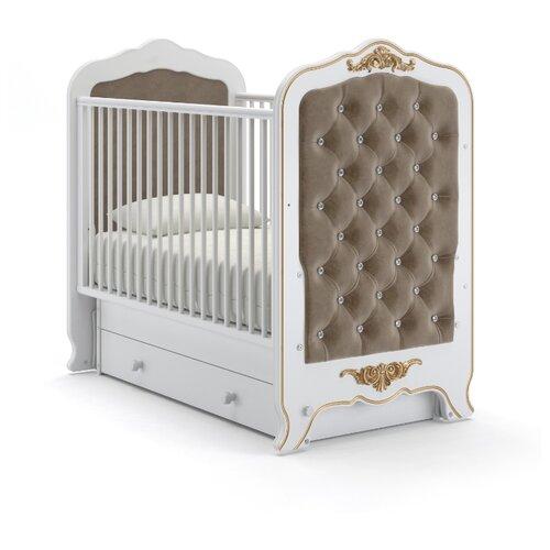 Кроватка Nuovita Fulgore (качалка), поперечный маятник белый кровати для подростков nuovita fulgore lungo