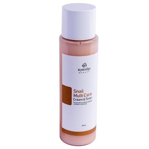 Купить Eyenlip Snail Multi Care Cream & Toner Тонер-крем с улиточным экстрактом для лица, 200 мл