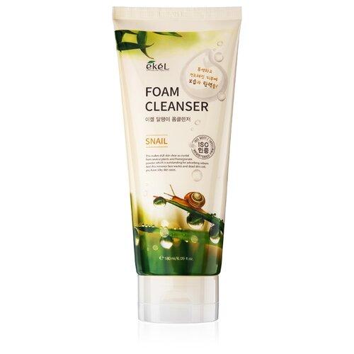 Ekel Foam Cleanser пенка для умывания с муцином улитки, 180 мл