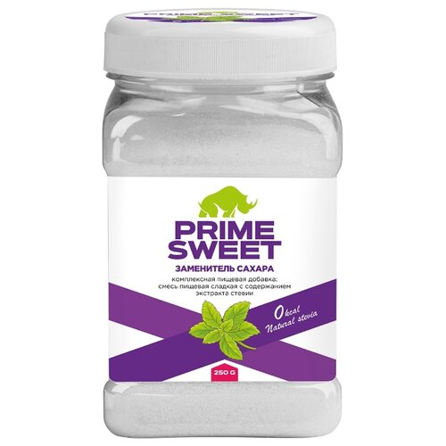 Prime Kraft Сахарозаменитель Prime Sweet банка порошок 250 г