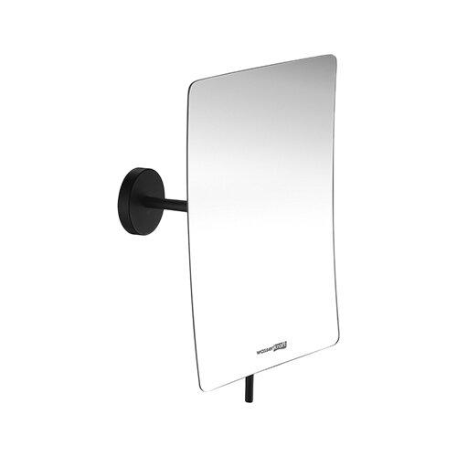 Зеркало косметическое настенное WasserKRAFT K-1001 черный