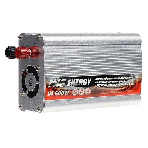 Инвертор AVS IN-600W серебристый
