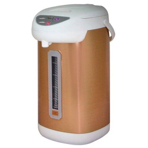 Термопот Великие реки Чая-5, белый/золотистый