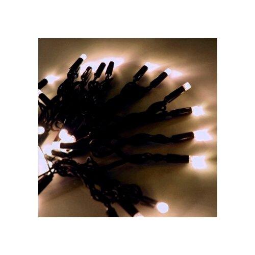 Гирлянда Hi Lights Deco морозостойкая 1200 см, RW-LD120, 120 ламп, теплые белые диоды/черный провод