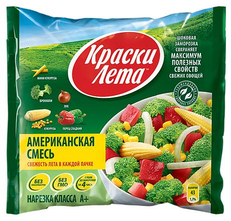 Краски Лета Американская смесь овощная замороженная 400 г