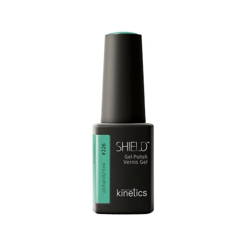Гель-лак для ногтей KINETICS SHIELD, 15 мл, #226 Paris Green гель лак для ногтей kinetics shield renascent 15 мл 473 bon vivant