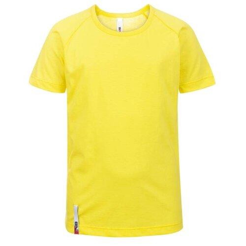 Купить Футболка Nota Bene размер 128, желтый, Футболки и топы