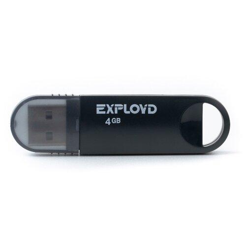 Купить Флешка EXPLOYD 570 4GB black