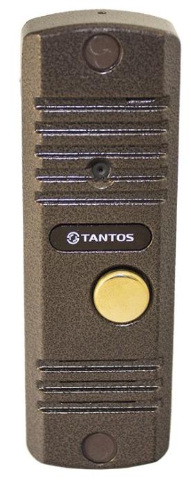 Вызывная (звонковая) панель на дверь TANTOS WALLE + HD медь