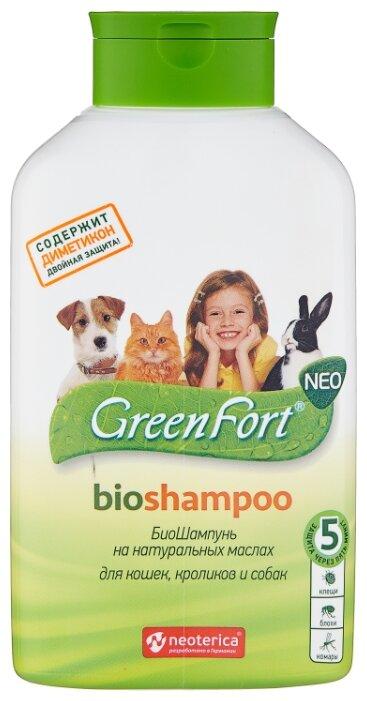GreenFort шампунь от блох и клещей