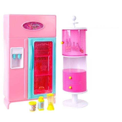цена S+S Toys Набор мебели для кухни Уютная квартирка (100459910) розовый онлайн в 2017 году