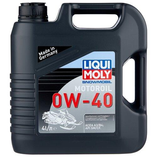 цена на Моторное масло LIQUI MOLY Snowmobil Motoroil 0W-40 4 л