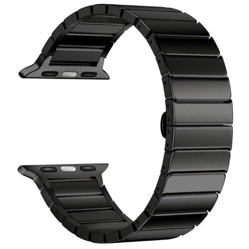 Lyambda Ремешок из нержавеющей стали Canopus для Apple Watch 38/40 mm черный фото