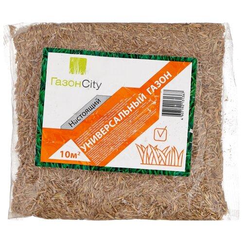 Смесь семян ГазонCity Настоящий Универсальный газон, 0.3 кг
